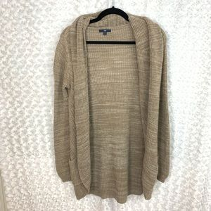 GAP Cotton Blend Oversized Cotton Knit Cardigan